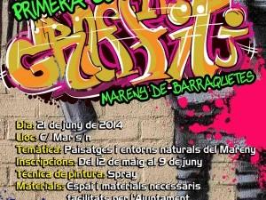 Primera Concentración Graffiti Mareny de Barraquetes