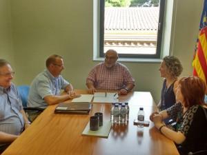 Reunió amb diferents Diputats i Consellers per a expresar les nostres preocupacions a les E.L.A