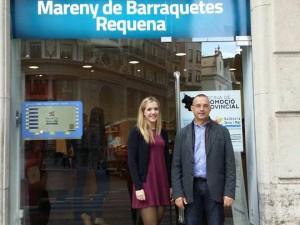 El Mareny de Barraquetes va estar a l'Oficina de Promoció Provincial de la Diputació de Valencia
