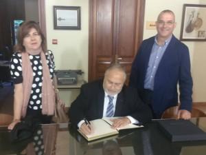 El Director General d'Administracions Públiques Toni Such visita el Mareny de Barraquetes