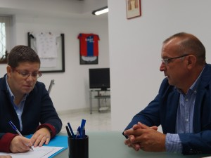Reunió amb Isabel García, Diputada de Joventut, Esports i Igualtat.