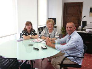 Reunió amb Mercedes Belenguer, diputada de Benestar Social