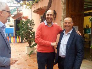 Pablo Seguí visita les obres del passeig peatonal